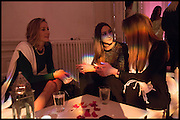 LISA BUTCHER; AMBER DONOSO; JEANETTE CALLIVA, White By Agadir -  launch party <br /> to promote the Moroccan resort of Agadir , Il Bottaccio, 9 Grosvenor Place, London, 4 November 2014