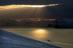 Norway Hammerfest 24MAR07 - Arctic landscape near  Hammerfest, the world's most northerly town...jre/Photo by Jiri Rezac..© Jiri Rezac 2007..Contact: +44 (0) 7050 110 417.Mobile:  +44 (0) 7801 337 683.Office:  +44 (0) 20 8968 9635..Email:   jiri@jirirezac.com.Web:    www.jirirezac.com..© All images Jiri Rezac 2007 - All rights reserved.