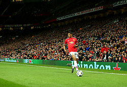 Marcus Rashford of Manchester United runs with the ball at Old Trafford - Mandatory by-line: Robbie Stephenson/JMP - 13/03/2018 - FOOTBALL - Old Trafford - Manchester, England - Manchester United v Sevilla - UEFA Champions League Round of 16 2nd Leg