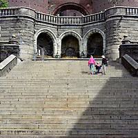 King Oscar II Terrace Stairs in Helsingborg, Sweden <br />