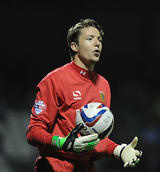 Yeovil Town's Wayne Hennessey    - Photo mandatory by-line: Alex James/JMP - Tel: Mobile: 07966 386802 27/08/2013 - SPORT - FOOTBALL - Huish Park - Yeovil - Yeovil Town V Birmingham City -  Capital One Cup - Round 2
