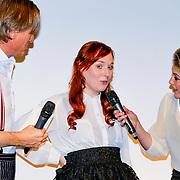 NLD/Amsterdam/20131014 -  Marie Claire Starters Award 2013, Jort Kelder en Lauren Verster in gesprek met genomineerde Inge Parée – HuurDeCatwalk