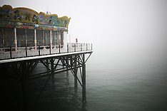 brighton streets, pier, royal pavilion, seafront
