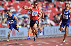 28-08-2015 CHN: IAAF World Championships Athletics day 7, Beijing<br /> 100 m decathlon, Adam Sebastian Helcelet CZE<br /> Photo by Ronald Hoogendoorn / Sportida