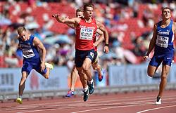 28-08-2015 CHN: IAAF World Championships Athletics day 7, Beijing<br /> 100 m decathlon, Adam Sebastian Helcelet CZE<br /> Photo by Ronald Hoogendoorn / Sportida