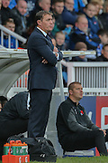 Leyton Orient Manager Ian Hendon  during the Sky Bet League 2 match between Hartlepool United and Leyton Orient at Victoria Park, Hartlepool, England on 15 November 2015. Photo by Simon Davies.