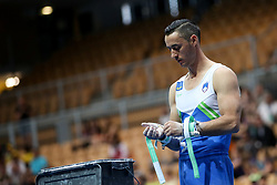 Alen Dimic of Slovenia at Horizontal Bar during Qualifications of Artistic Gymnastics FIG World Challenge Koper 2018, on June 1, 2017 in Arena Bonifika, Koper, Slovenia. Photo by Matic Klansek Velej/ Sportida