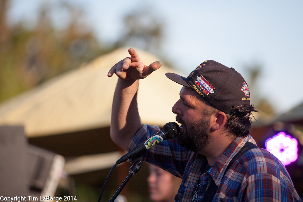 Magic Trick at Huichica Music Festival 2014 held at Gunlach Bundschu Winery in Sonoma, CA. Photo © Tim LaBarge 2014
