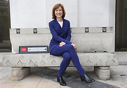 BBC presenter Fiona Bruce at the Guildhall in London, after receiving the Freedom of the City of London in recognition of her involvement with Refuge, the national domestic violence charity and International Women's Day, Friday, 7th March 2014. Picture by Stephen Lock / i-Images