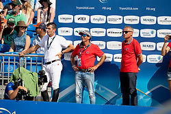 Terazm Switserland, Werner Muff, .., Andy Kistler<br /> World Equestrian Games - Tryon 2018<br /> © Hippo Foto - Dirk Caremans<br /> 21/09/2018