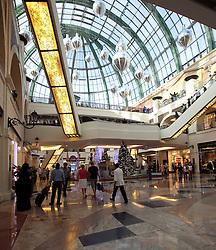Dubai mall all decked out for Christmas, Dubai, UAE, December 18, 2012. Photo by Silvia Baron / i-Images.