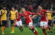 Bayern Munich v Arsenal 15 Feb 2017