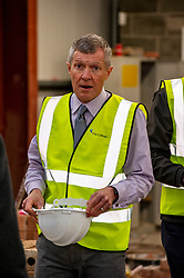 """Pictured: Willie Rennie<br /><br />Scottish Liberal Democrat Leader Willie Rennie visited the Future Energy Skills centre at Fife College in Glenrothes today to argue for """"astronomical investment"""" in home insulation to tackle the climate emergency and end fuel poverty by 2025 . <br /><br /><br /><br />Ger Harley   EEm 19 November 2019"""