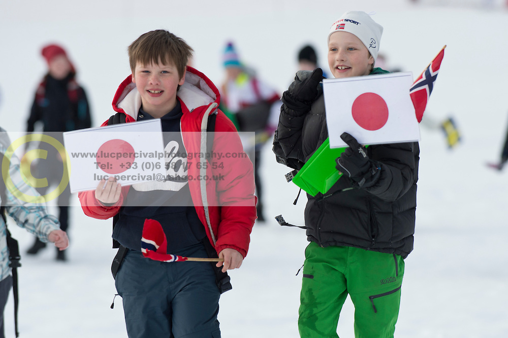 Spectators, , Short Distance Biathlon, 2015 IPC Nordic and Biathlon World Cup Finals, Surnadal, Norway
