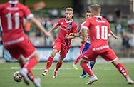 Anders Holst (FC Helsingør) under kampen i 2. Division mellem HIK og FC Helsingør den 30. august 2019 i Gentofte Sportspark (Foto: Claus Birch).