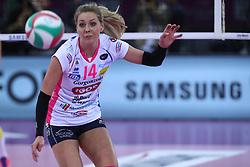 04-03-2017 ITA: Semifinal Coppa Italia Imoco Volley Conegliano - Igor Gorgonzola Novara, Firenze<br /> Laura Dijkema #14<br /> <br /> ***NETHERLANDS ONLY***