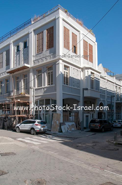 Urban Renewal Project on Jerusalem Boulevard, Jaffa, Israel