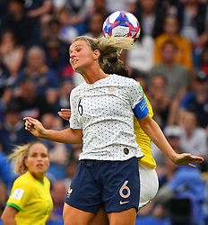 France's Amandine Henry during FIFA Women's World Cup France group A match France v Brazil on June 23, 2019 in Le Havre, France. France won 2-1 after extra time reaching quarter-finals. Photo by Christian Liewig/ABACAPRESS.COM