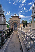 Mausoleums, chapels, and family vaults, Colon Cemetery, Cuba, Republic of Cuba, Vedado neighbourhood of Havana, Cuba
