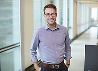 HDR Brandon List photographed at the offices of HDR, Chicago, IL. May 15, 2018. Photo by Andrew Collings.