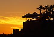 Cabo san Lucas, Mexico (Baja Peninsula), outdoors at the Pitahayas Restaurant, Hacienda del Mar Resort (property released)