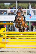 Marina Tress - Canstakka<br /> FEI World Breeding Jumping Championships for Young Horses 2016<br /> © DigiShots