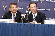 FIU Press Conference to announce the hiring of Coach Richard Pitino to run the FIU Basketball Program moving forward.