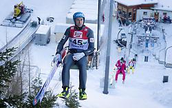 13.12.2013, Nordische Arena, Ramsau, AUT, FIS Nordische Kombination Weltcup, Skisprung, provisorischer Wettkampfdurchgang, im Bild Wilhelm Denifl (AUT) // Wilhelm Denifl (AUT) during Ski Jumping PCR Round of <br /> FIS Nordic Combined World Cup, at the Nordic Arena in Ramsau, Austria on 2013/12/13. EXPA Pictures © 2013, EXPA/ JFK