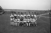 All-Ireland Under 21 Football Final, Derry v Offaly. <br /> The Offaly Team.<br /> 08.09.1968