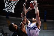 Tyler Cain<br /> Germani Basket Brescia - Vanoli Cremona<br /> Basket Precampionato Serie A LBA 2019/2020<br /> Desio 15 September 2019<br /> Foto Mattia Ozbot / Ciamillo-Castoria