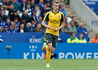 Football - 2016/2017 Premier League - Leicester Ciity V Arsenal. <br /> <br /> Rob Holding of Arsenal at The King Power Stadium.<br /> <br /> COLORSPORT/DANIEL BEARHAM
