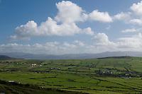 The Dingle peninsula in West Kerry, Ireland.