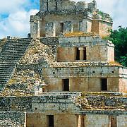Mayan ruins at Edzna, Campeche.