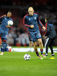 Bayern Munich's Arjen Robben - Photo mandatory by-line: Joe Meredith/JMP - Tel: Mobile: 07966 386802 19/02/2014 - SPORT - FOOTBALL - London - Emirates Stadium - Arsenal v Bayern Munich - Champions League - Last 16 - First Leg
