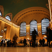 The main concourse of at Grand Central Terminal. Manhattan, New York, USA.  Photo Tim Clayton