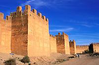Maroc - Anti Atlas - Taroudant - Les remparts