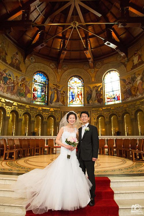 20150124 Christine Alex Kim Wedding Stanford