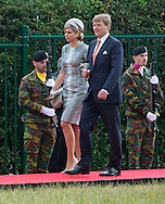 Waterloo, 18-06-2015 <br /> <br /> 200 year anniversary of the battle around Waterloo attended by KIng WIllem-Alexander and Queen Maxima and King Filip and Queen Mathilde of Belgium, Grand Duke Henri and Grand Duchess Maria Theresa of Luxemburg<br /> <br /> Photo:Royalportraits Europe/Bernard Ruebsamen
