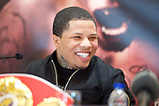 Floyd Mayweather Jr & Frank Warren press conference at The Savoy Hotel, London, Great Britain <br /> 7th March 2017 <br /> <br /> <br /> Gervonta Davis <br /> (an American professional boxer who has held the IBF junior lightweight title since January 2017)<br /> <br /> 