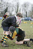 London Wasps CoachClass at Windsor RFC. Tues 17-2-09. U10s and U11s