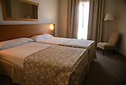 Interior of a hotel room León, Spain