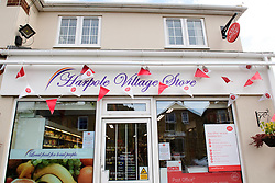 General view of the outside of Harpole Post Office inside Harpole Village Store.<br /> <br /> Chris Heaton-Harris MP has officially opened the new Harpole Post Office at Harpole Village Store in High Street, Harpole, Northampton.<br /> <br /> Date: November 10, 2017
