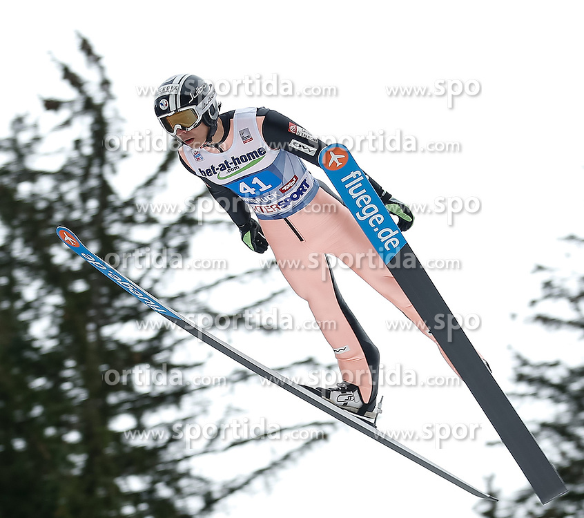 04.01.2014, Bergisel Schanze, Innsbruck, AUT, FIS Ski Sprung Weltcup, 62. Vierschanzentournee, Probesprung, im Bild Ronan Lamy Chappuis (FRA) // Ronan Lamy Chappuis of France during Trial Jump of 62nd Four Hills Tournament of FIS Ski Jumping World Cup at the Bergisel Schanze, Innsbruck, Austria on 2014/01/04. EXPA Pictures © 2014, PhotoCredit: EXPA/ Peter Rinderer