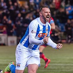 #9 Kris Boyd (Kilmarnock) celebrates - Kilmarnock v Dundee - Ladbrokes Premiership - 13 February 2018 - © Russel Hutcheson   SportPix.org.uk
