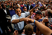 The primary elections in Pennsylvania. Obama rallies in Lancaster