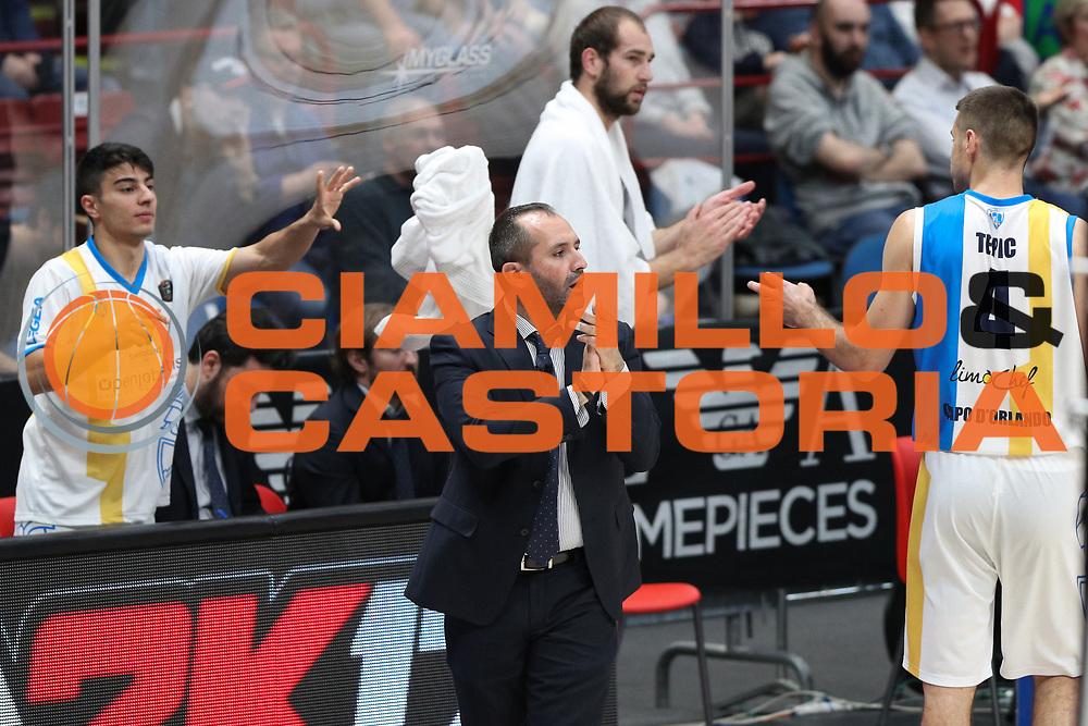 Di Carlo Gennaro, EA7 Emporio Armani Milano vs Capo d'Orlando LBA Serie A Playoff gara 2 stagione 2016/2017 Mediolanum Forum Assago, Milano 14 maggio 2017