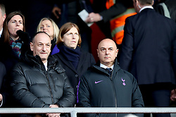 Tottenham Hotspur's Chairman Daniel Levy (right) in the stands during the Premier League match at St Mary's Stadium, Southampton.