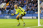Wolverhampton Wanderers goalkeeper Carl Ikeme  during the Sky Bet Championship match between Sheffield Wednesday and Wolverhampton Wanderers at Hillsborough, Sheffield, England on 20 December 2015. Photo by Simon Davies.