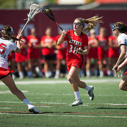 16 March 2016: The women's lacrosse team took on #11/10 Stony Brook and lost 19-5 at home Wednesday afternoon.