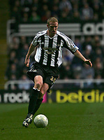 Photo: Andrew Unwin.<br />Newcastle United v Southampton. The FA Cup. 18/02/2006.<br />Newcastle's Peter Ramage.
